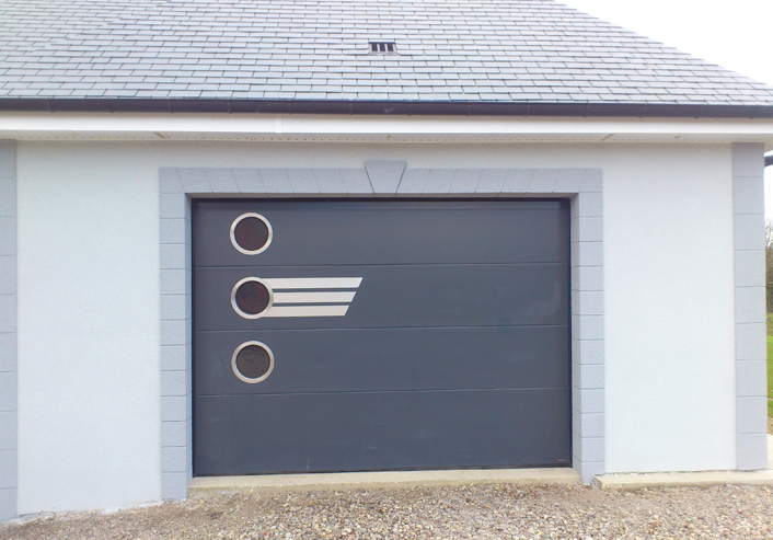 Art fen tres iso portes fen tres volets portails for Porte de garage aludoor